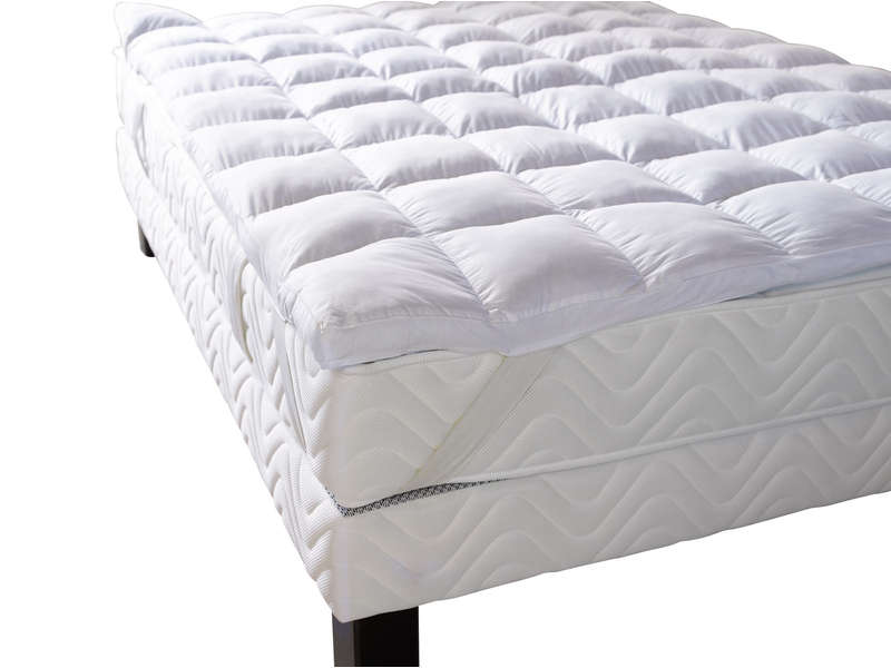 surmatelas 160x200 cm bultex confort vente de sur matelas conforama. Black Bedroom Furniture Sets. Home Design Ideas