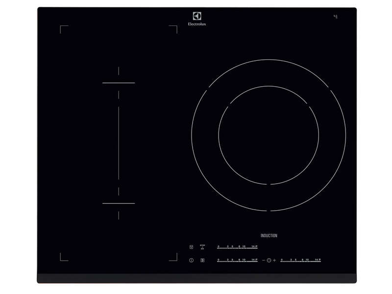 Table de cuisson induction 3 foyers ELECTROLUX E6003IFK