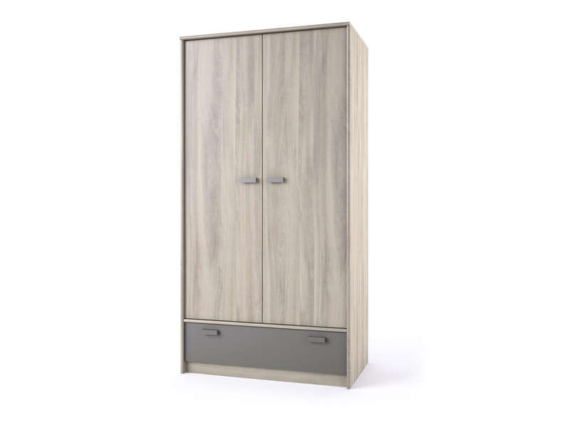 Gallery of armoire with ciel de lit conforama for Armoire a balai conforama