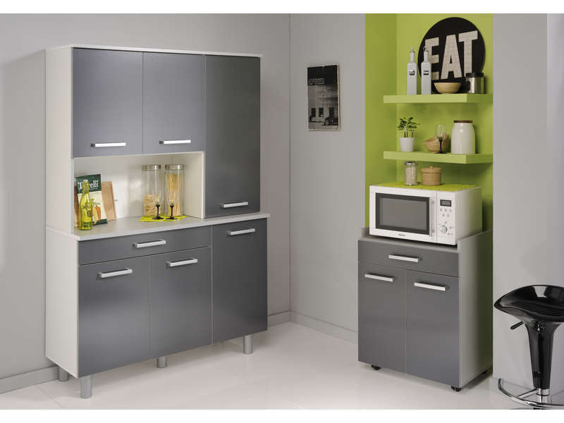 buffet basalte vente de buffet de cuisine conforama. Black Bedroom Furniture Sets. Home Design Ideas