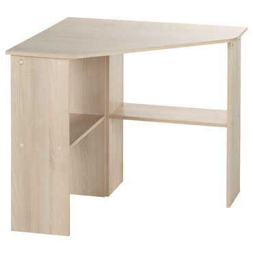 Bureau informatique d 39 angle angus coloris acacia vente for Bureau informatique angle