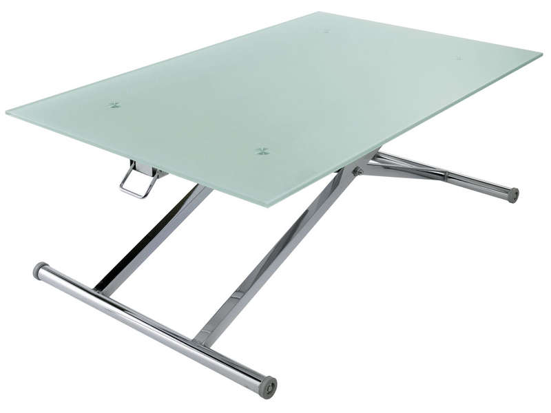 Pratique et double fontion  table basse et table pour manger ... 91fb6308a36f