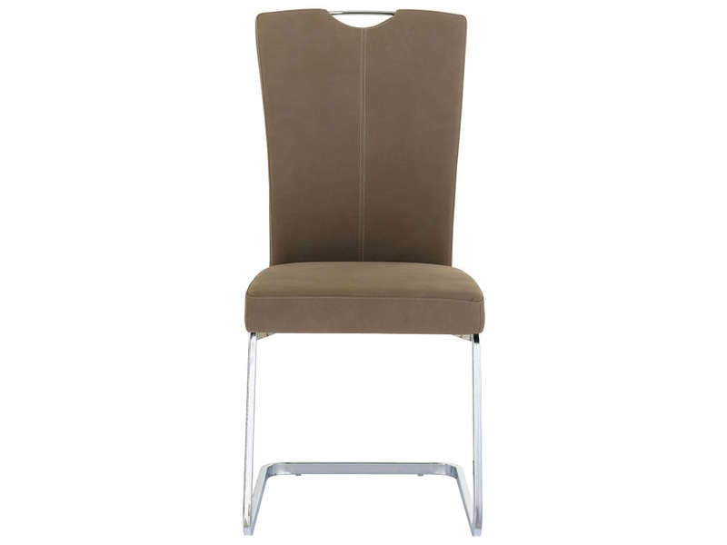 Chaise Sandy Coloris Marron - Vente De Chaise - Conforama
