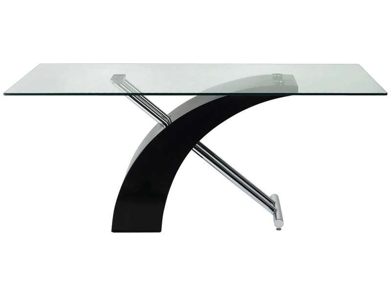 Table hauteur variable conforama - Table salon modulable hauteur ...