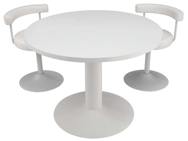 Table ronde - Table ronde de cuisine ...