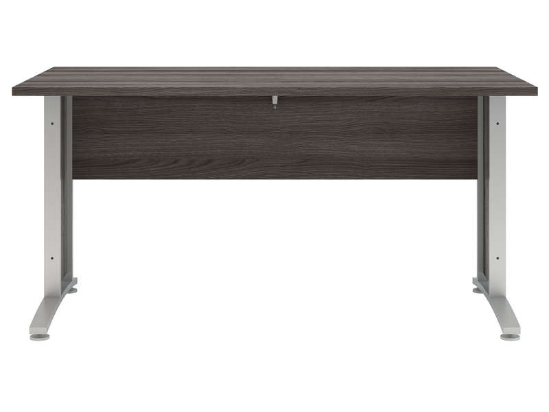 bureau 150 cm prima coloris ch ne gris vente de bureau conforama. Black Bedroom Furniture Sets. Home Design Ideas