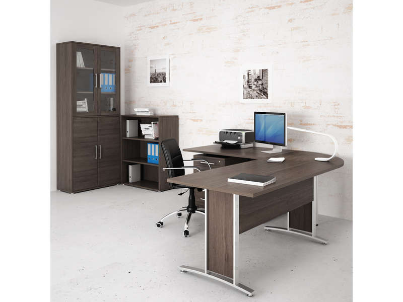 angle de liaison prima vente de accessoires de bureau conforama. Black Bedroom Furniture Sets. Home Design Ideas