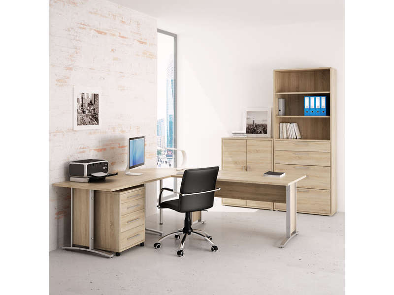 caisson 4 tiroirs prima vente de bureau composer conforama. Black Bedroom Furniture Sets. Home Design Ideas