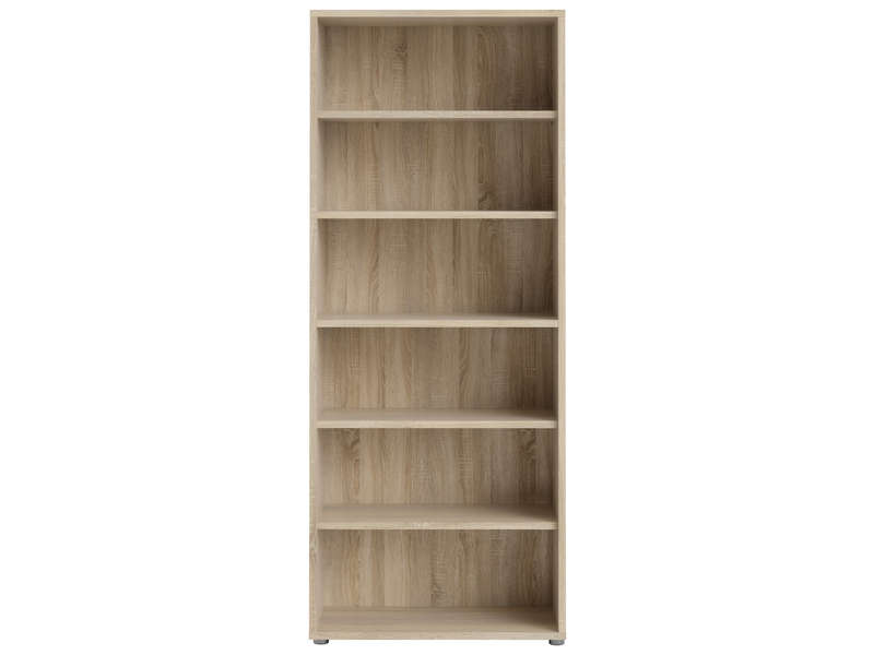 Biblioth que 5 tablettes prima vente de biblioth que for Meuble bureau bibliotheque