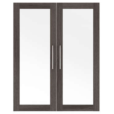 Option 2 portes en verre