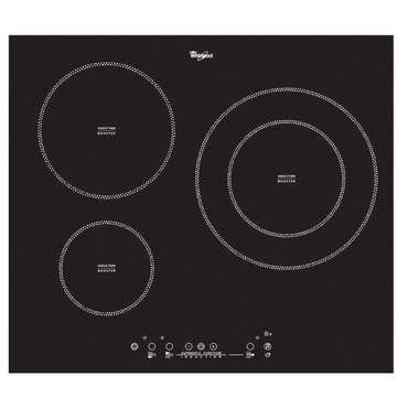 Table de cuisson induction 3 foyers WHIRLPOOL ACM 787
