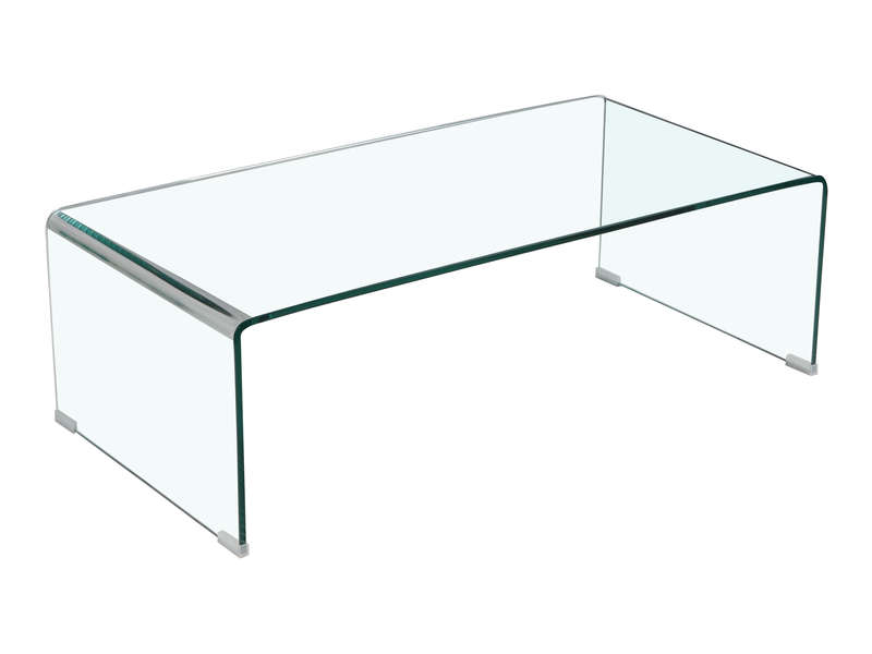 Table basse en verre conforama for Table basse en verre trempe