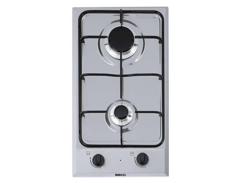 Table de cuisson gaz 2 foyers BEKO HDCG32220FXIX