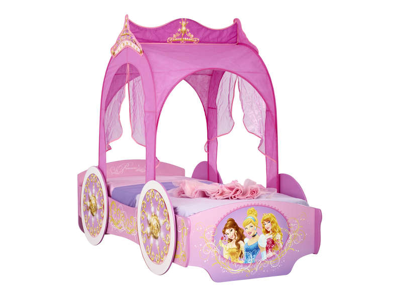 lit carrosse 90x190 cm disney princesses vente de lit enfant conforama. Black Bedroom Furniture Sets. Home Design Ideas