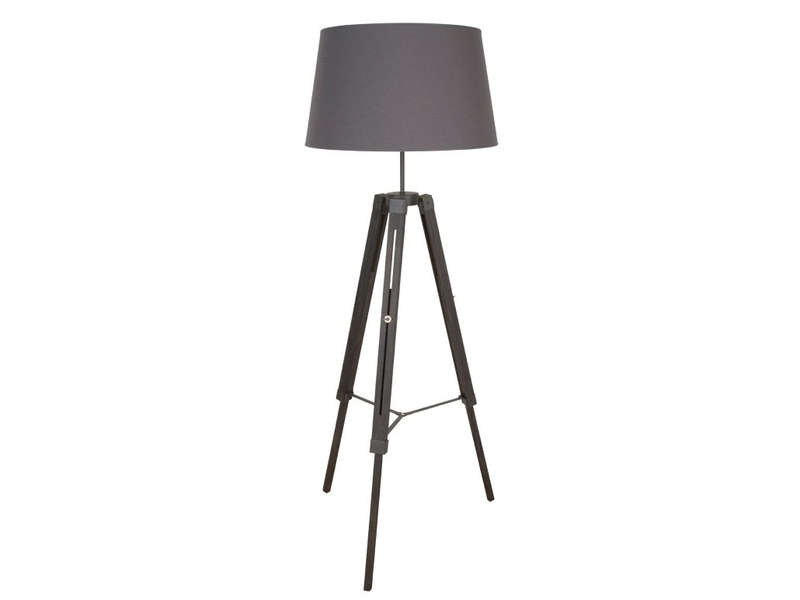 lampadaire tr pied cm octave coloris ardoise vente de lampadaire conforama. Black Bedroom Furniture Sets. Home Design Ideas