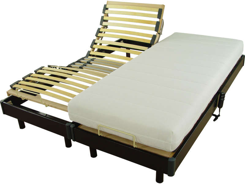 matelas ressorts 2x80x200 cm precisium by conforama elo. Black Bedroom Furniture Sets. Home Design Ideas