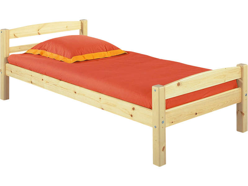 Lit 90 x 200 cm harry 5 coloris naturel vente de lit enfant conforama - Lit 2 places pas cher conforama ...