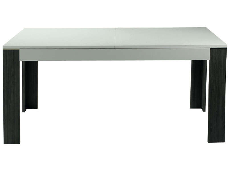 Table rectangulaire avec allonge 160 cm max for Salle a manger wave