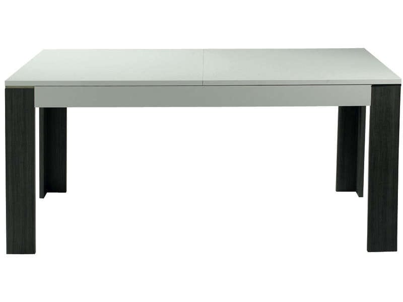 Table Rectangulaire Avec Allonge 160 Cm Max Wave Coloris Chene