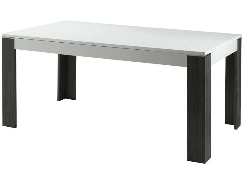 Table allonges wave vente de table de cuisine conforama for Table de jardin conforama