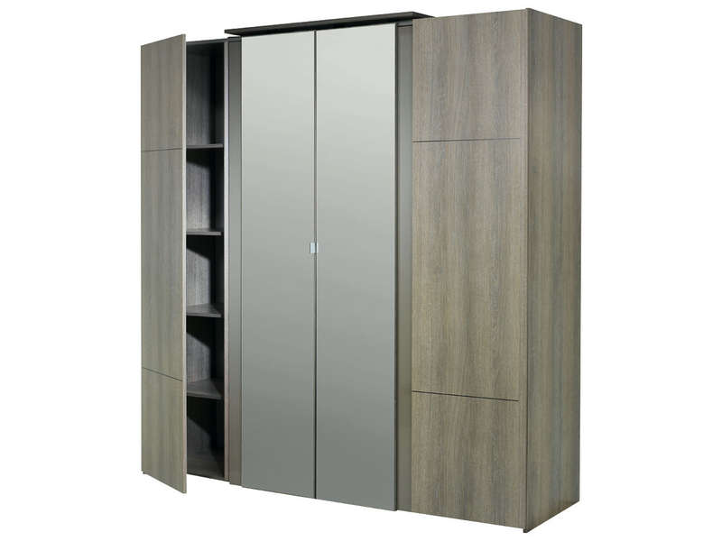 fly armoire chambre adulte. Black Bedroom Furniture Sets. Home Design Ideas