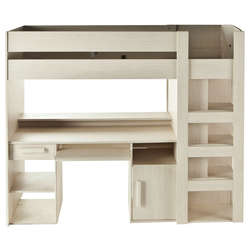 des lits superpos s et des mezzanines que les enfants adorent. Black Bedroom Furniture Sets. Home Design Ideas