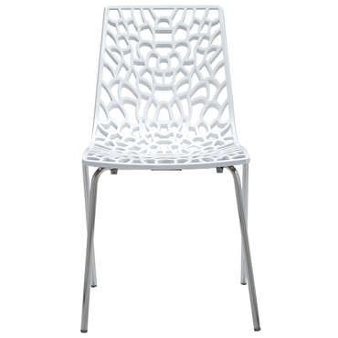 Chaise GROOVE 2 coloris blanc