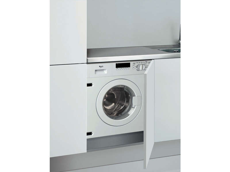 Lave linge int grable 6kg whirlpool awod 060 vente de for Lave linge encastrable conforama