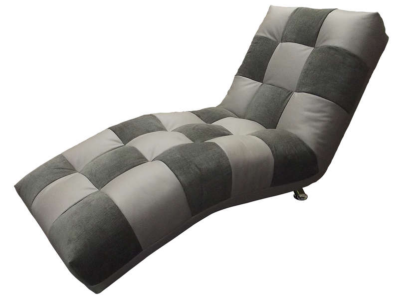 chaise longue isabella coloris gris anthracite vente de fauteuil conforama. Black Bedroom Furniture Sets. Home Design Ideas
