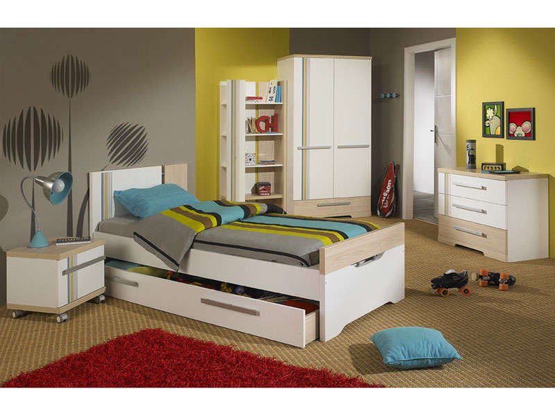 lit 120x190 cm arkan vente de lit enfant conforama. Black Bedroom Furniture Sets. Home Design Ideas