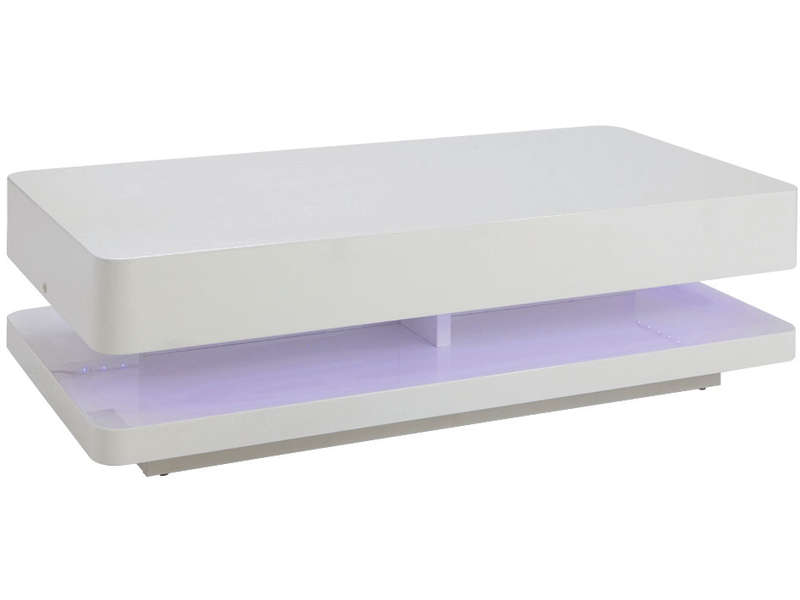 Table basse - Pouf blanc conforama ...