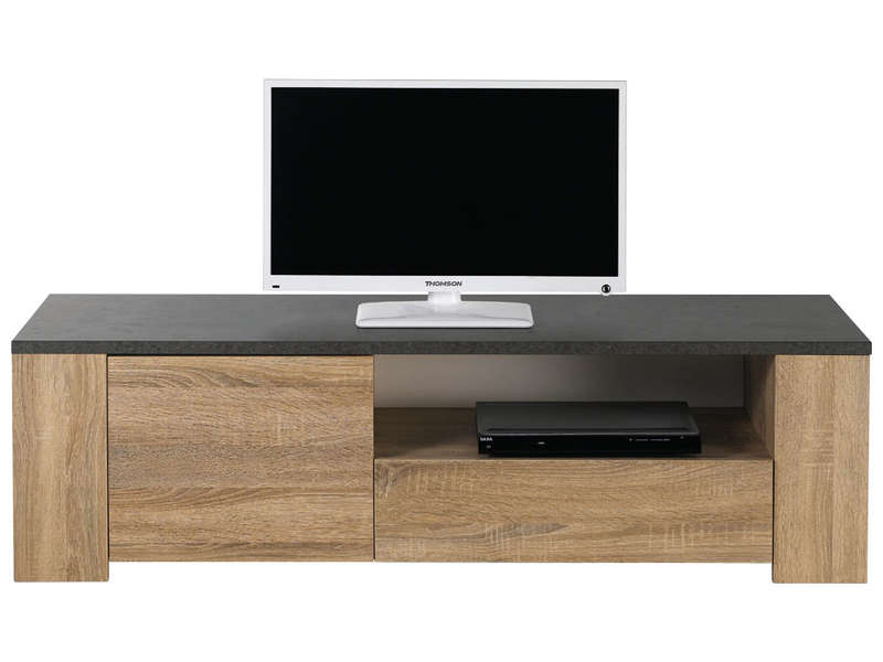 Banc tv fumay vente de meuble tv conforama for Meuble conforama tv