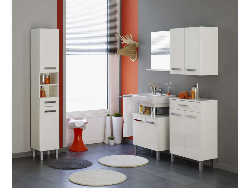 meuble sous lavabo 60 cm syane vente de meuble et rangement conforama. Black Bedroom Furniture Sets. Home Design Ideas