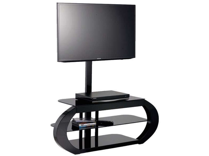 meuble tv sur pied pivotant. Black Bedroom Furniture Sets. Home Design Ideas
