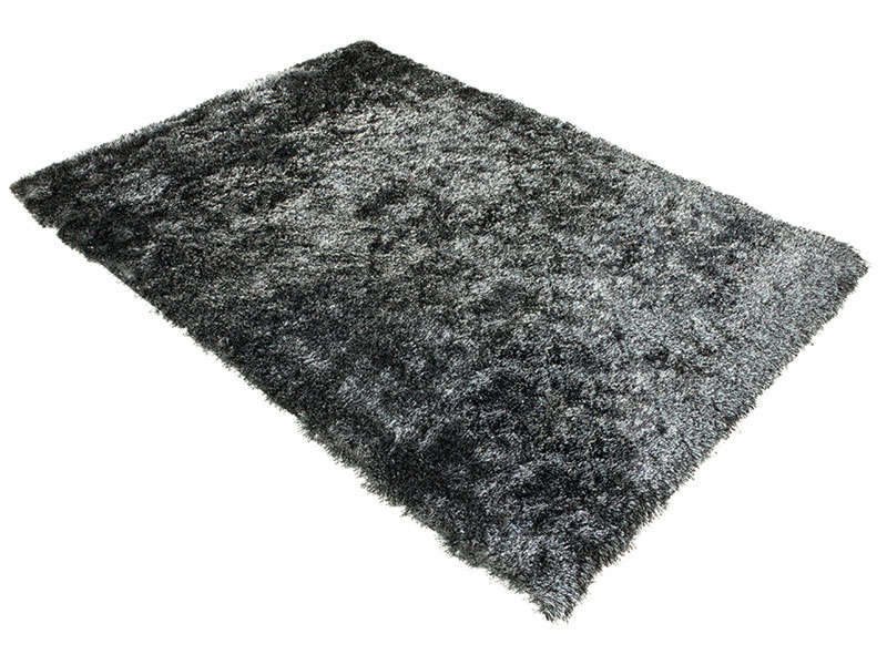tapis 120x170 cm glitter coloris noir vente de tapis moyenne et grande taille conforama. Black Bedroom Furniture Sets. Home Design Ideas