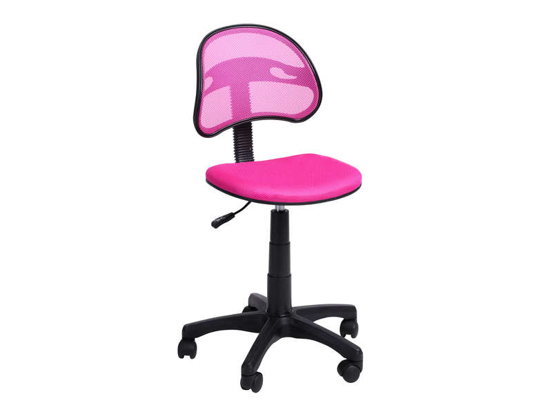 Chaise Dactylo AZALIE Coloris Rose