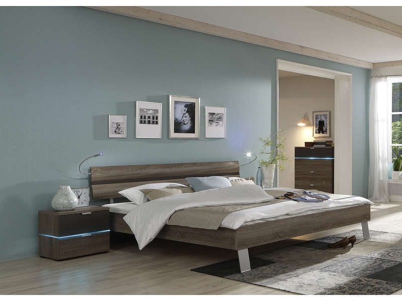 Trendy chambre with chambre complete adulte alinea for Chambre adulte alinea