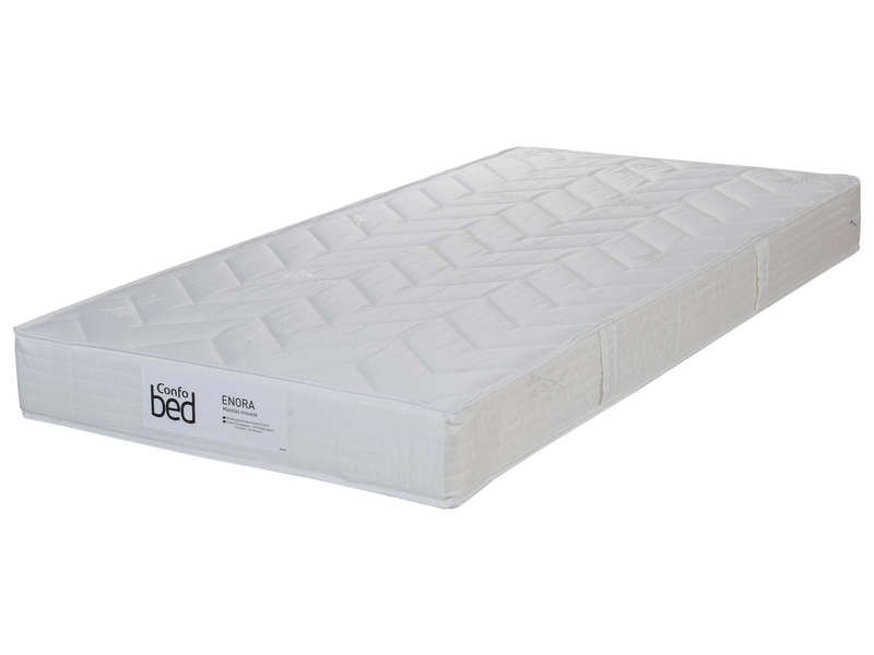 matelas mousse 90x190 cm confobed enora vente de matelas 2 personnes conforama. Black Bedroom Furniture Sets. Home Design Ideas