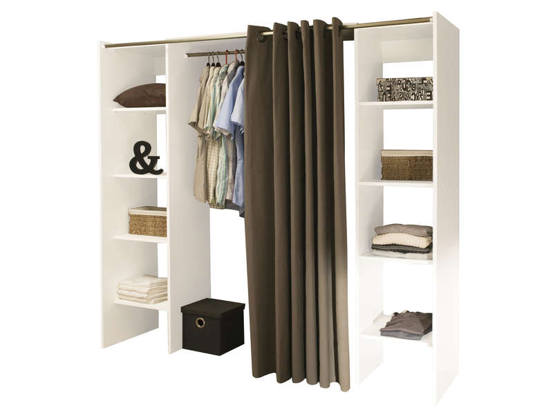 cool dressing extensible colonnes with dressing angle alinea. Black Bedroom Furniture Sets. Home Design Ideas