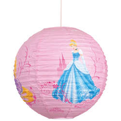 Suspension boule papier