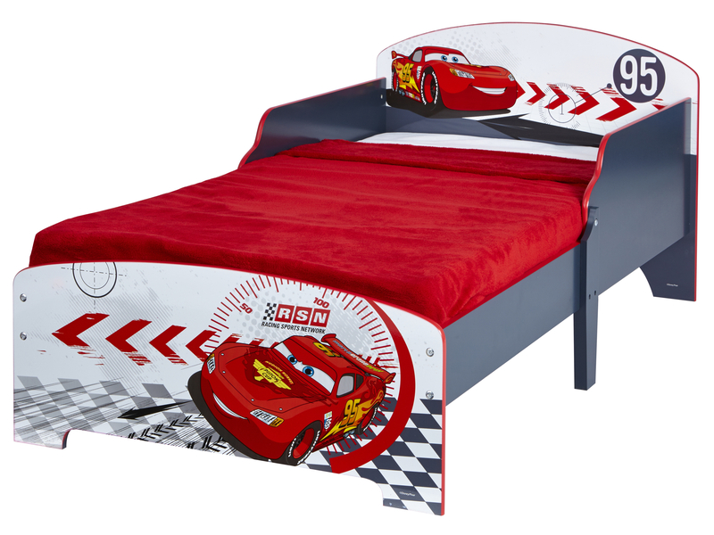 lit 140x70 cm disney cars vente de lit enfant conforama. Black Bedroom Furniture Sets. Home Design Ideas