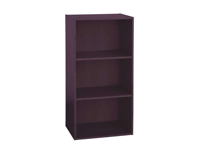 Biblioth que 3 cases cubico 3 coloris weng vente de for Bibliotheque meuble conforama