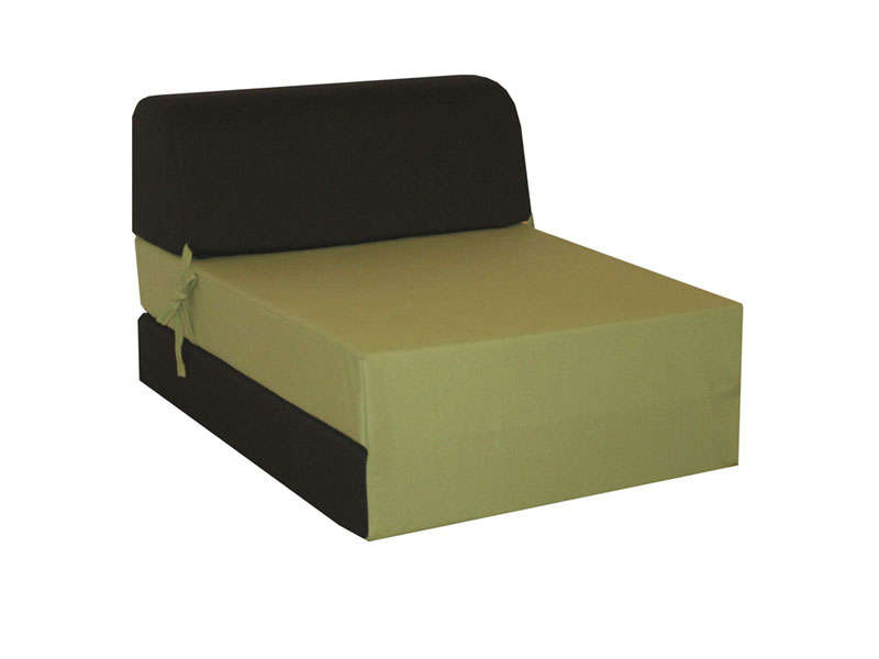 chauffeuse lit d 39 appoint 1 place chappo coloris noir et vert vente de lit d 39 appoint et matelas. Black Bedroom Furniture Sets. Home Design Ideas