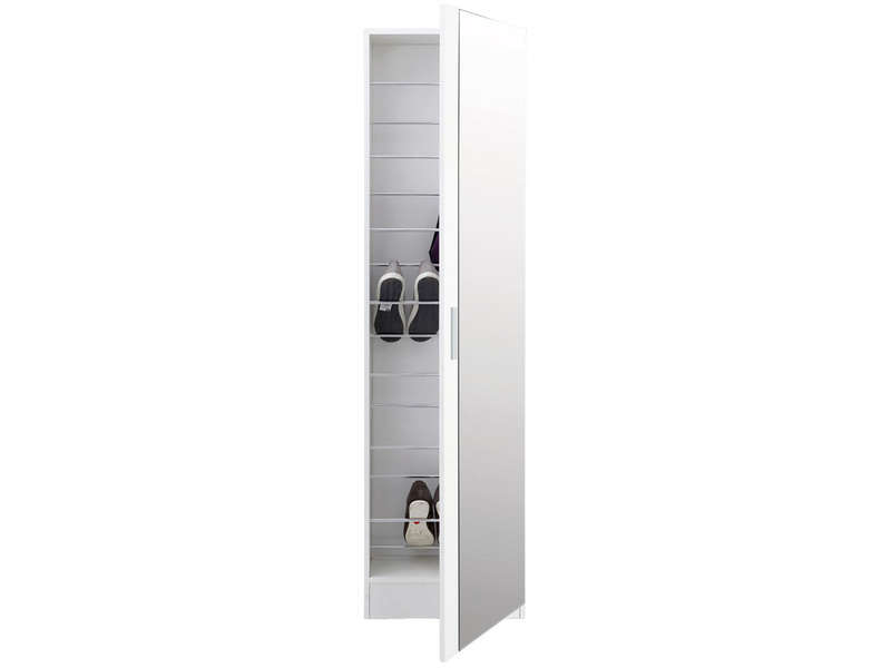 meuble chaussures miroir conforama. Black Bedroom Furniture Sets. Home Design Ideas