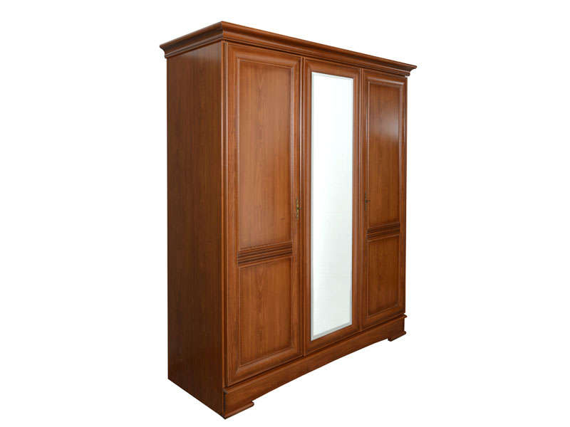 armoire 3 portes battantes eloise vente de armoire. Black Bedroom Furniture Sets. Home Design Ideas