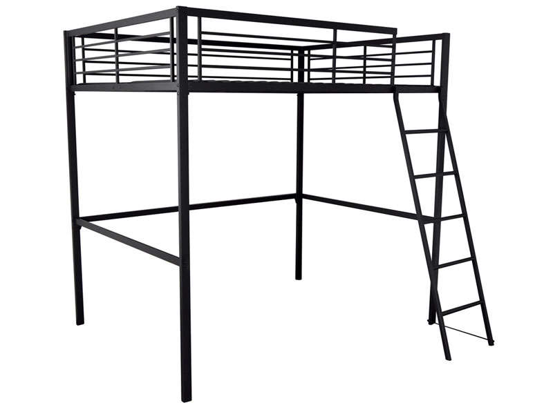 lit mezzanine 140x190 cm. Black Bedroom Furniture Sets. Home Design Ideas