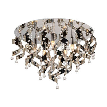 lustre 5 lampes louis chrome vente de lustre et suspension conforama. Black Bedroom Furniture Sets. Home Design Ideas