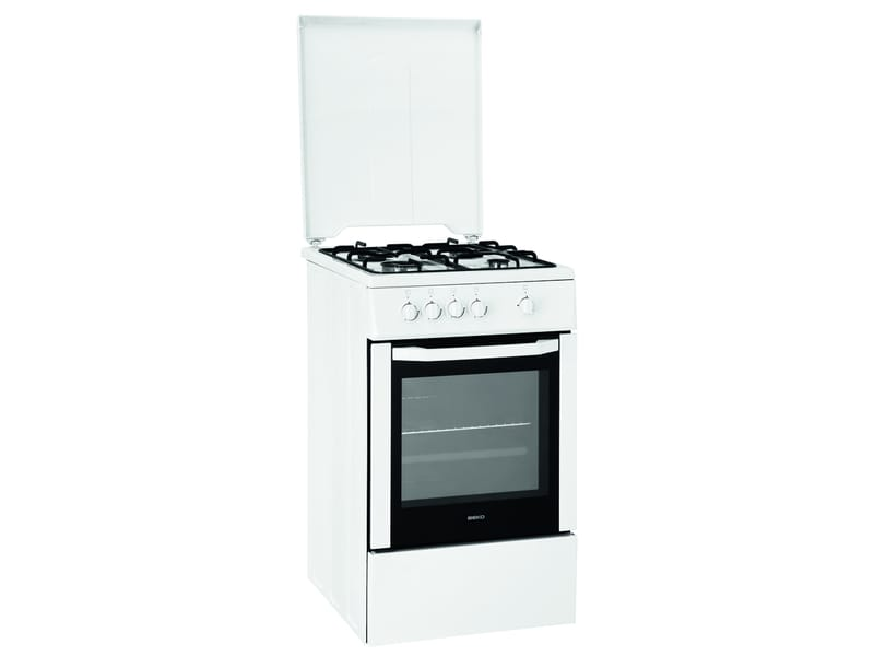 cuisini re gaz 50 cm beko csg52w vente de beko conforama. Black Bedroom Furniture Sets. Home Design Ideas