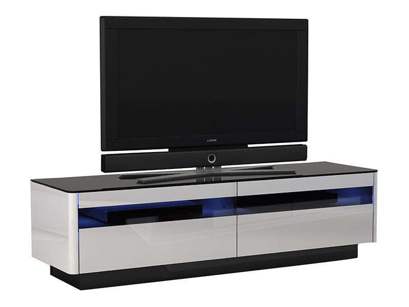 meuble tv monza chez conforama. Black Bedroom Furniture Sets. Home Design Ideas