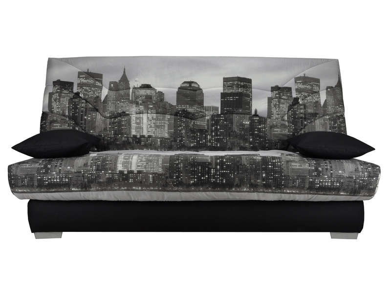 Banquette clic clac for Housse clic clac new york